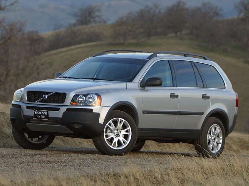 2004 volvo xc90 pictures including interior and exterior images