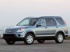 2005 Honda CR-V LX Front-wheel Drive