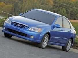 2005 Kia Spectra LX 4dr Sedan