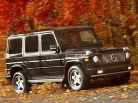 2005 Mercedes-Benz G-Class Base G500 4dr All-wheel Drive