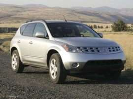 2005 Nissan Murano S Front-wheel Drive