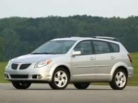 2005 Pontiac Vibe Base Front-wheel Drive Hatchback
