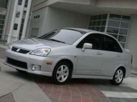 2005 Suzuki Aerio S 4dr Front-wheel Drive Sedan
