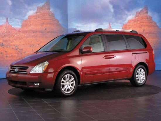 Kia Sedona: 2006 – Current (2012)