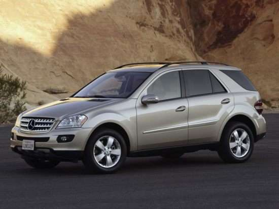 2006 mercedes benz m class models trims information and for Mercedes benz ml350 msrp