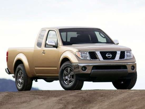 2006 Nissan Frontier 4x4 King Cab 6' Box