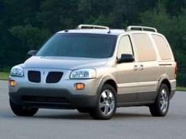 2006 Pontiac Montana SV6 Base Front-wheel Drive Extended Passenger Van
