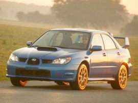 2006 Subaru Impreza WRX STi Base 4dr All-wheel Drive Sedan