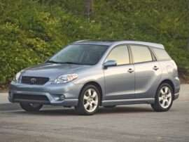 2006 Toyota Matrix Base Front-wheel Drive Hatchback
