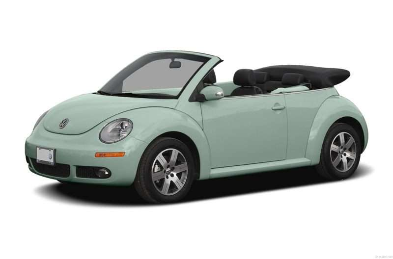 Research the 2006 Volkswagen New Beetle