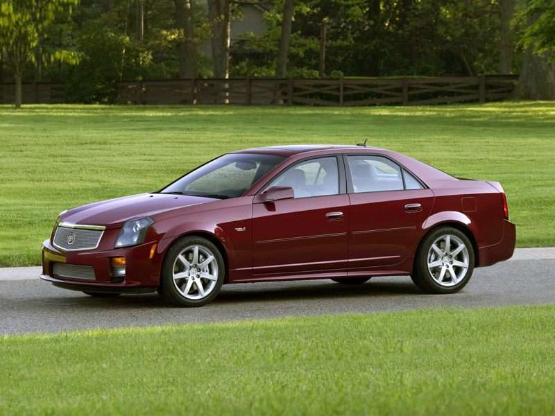 2007 Cadillac Cts V Pictures Including Interior And