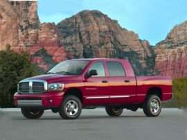 2007 Dodge Ram 1500 Laramie 4x4 Mega Cab 160.5 in. WB