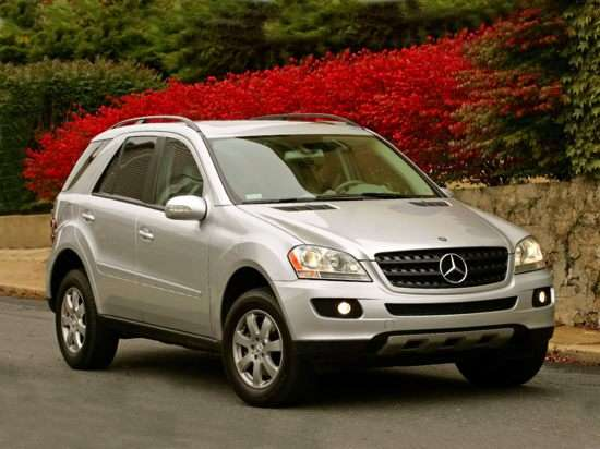 2007 mercedes benz m class models trims information and for 2007 mercedes benz m class