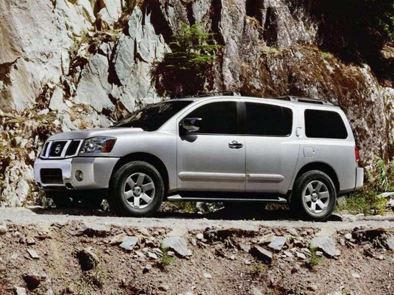2008 Nissan Armada LE 4x4 Review