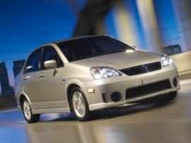 2007 Suzuki Aerio Base 4dr Front-wheel Drive Sedan
