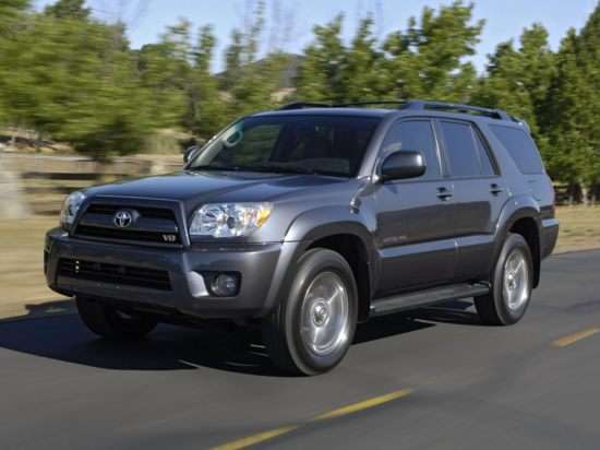 2007 toyota 4runner models trims information and. Black Bedroom Furniture Sets. Home Design Ideas
