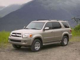 2007 Toyota Sequoia Limited V8 4x2