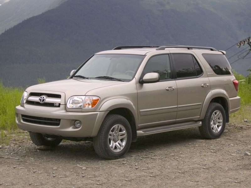 2007 Toyota Sequoia Pictures Including Interior And Exterior Images