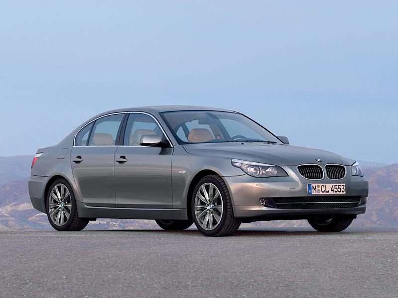 BMW Issues A Recall For 2008 to 2010 5-Series Sedans