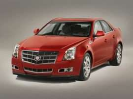 2008 Cadillac CTS Base 4dr Sedan