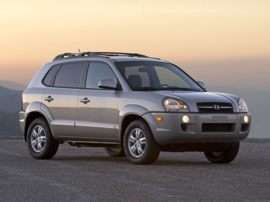 2008 Hyundai Tucson GLS 4dr Front-wheel Drive