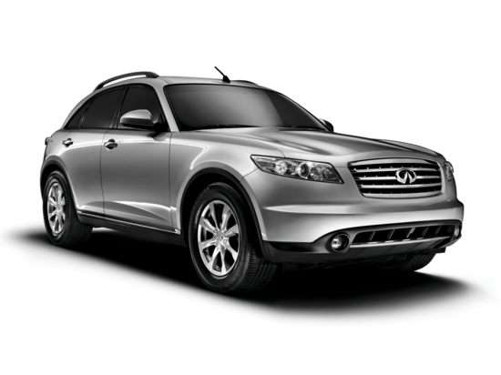 Best Used Infiniti Crossover - FX35, FX45