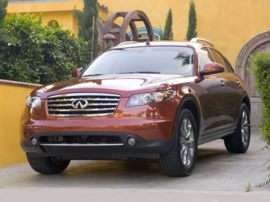 2008 Infiniti FX45 Base 4dr All-wheel Drive