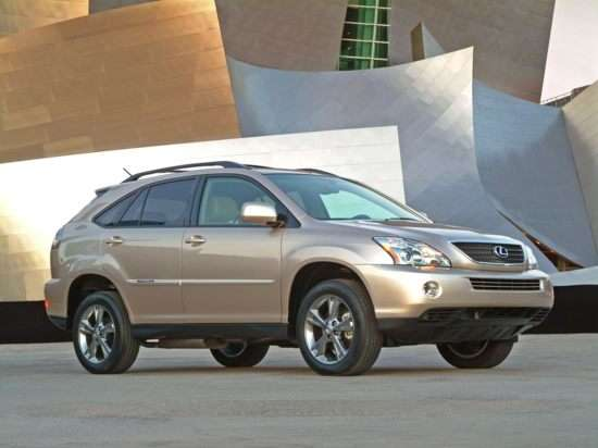 Best Used Lexus Hybrid - RX 400h, GS 450h