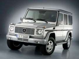2008 Mercedes-Benz G-Class Base G500 4dr All-wheel Drive