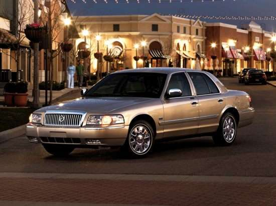 2008 Mercury Grand Marquis