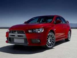 2008 Mitsubishi Lancer Evolution GSR 4dr All-wheel Drive Sedan
