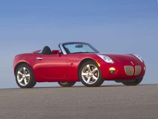 Best Used Pontiac Convertible - Solstice, Firebird, Sunfire
