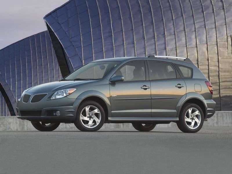 2008 Pontiac Vibe Pictures Including Interior And Exterior