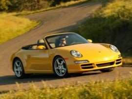 2008 Porsche 911 Carrera 2dr All-wheel Drive Cabriolet