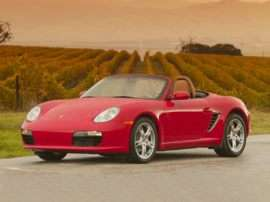 2008 Porsche Boxster Base 2dr Rear-wheel Drive Convertible