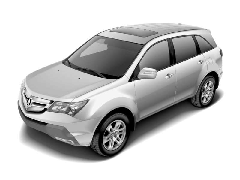 Research the 2009 Acura MDX
