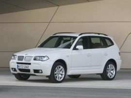 2009 BMW X3 xDrive30i 4dr All-wheel Drive Sports Activity Vehicle