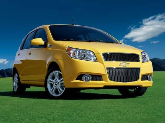 2009 Chevrolet Aveo5 vs 2008 Honda Fit