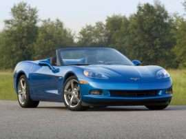2009 Chevrolet Corvette Base 2dr Convertible