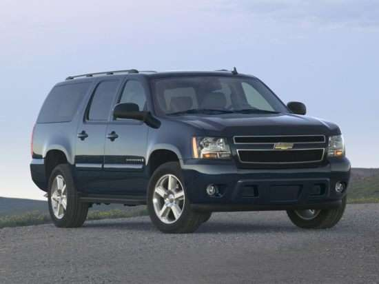 Competitor Showcase: The 2009 Chevrolet Suburban