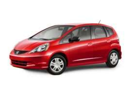 2009 Honda Fit Base 4dr Front-wheel Drive Hatchback