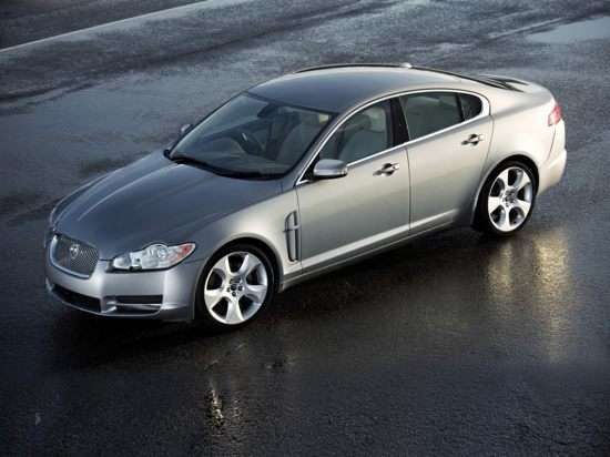 Jaguar Adding XF Supercharged for 2010