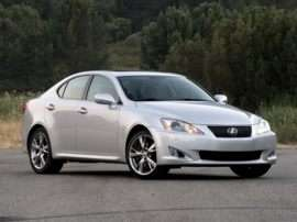 Lexus IS Recall is the Latest from World