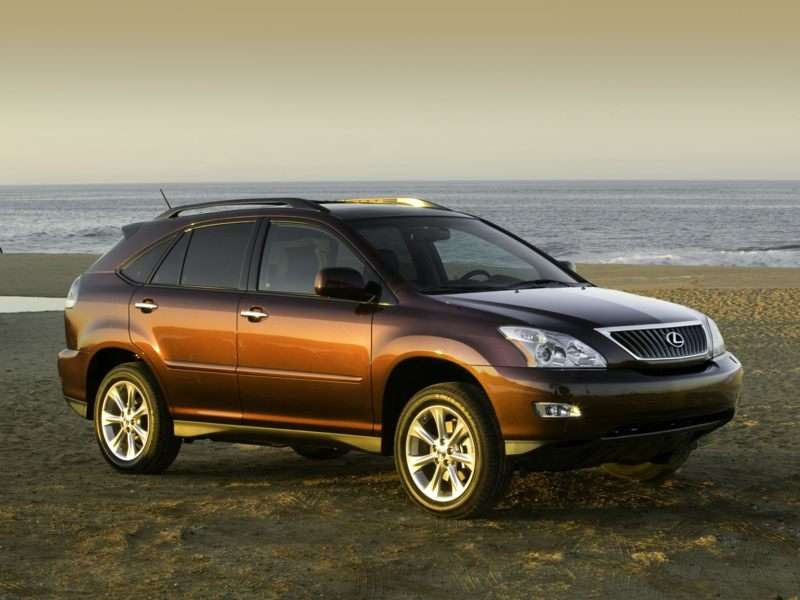 Research the 2009 Lexus RX 350