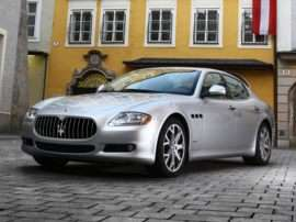 2009 Maserati Quattroporte Base 4dr Sedan