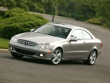 2009 Mercedes-Benz CLK-Class 