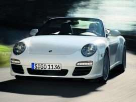 2009 Porsche 911 Carrera 4 2dr All-wheel Drive Cabriolet