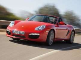 2009 Porsche Boxster Base 2dr Rear-wheel Drive Convertible