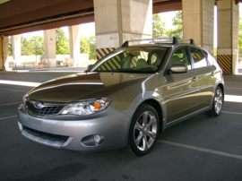 2009 Subaru Impreza Outback Sport Base 4dr All-wheel Drive Hatchback
