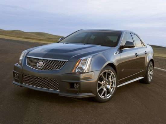 We drive the 2010 CTS-V: Smiles and desire for $60k ensue